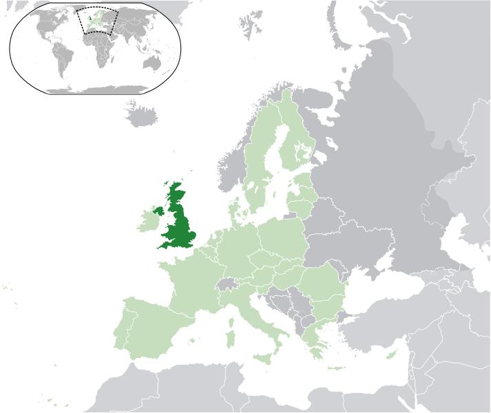 la situation des Royaume-Uni haute résolution