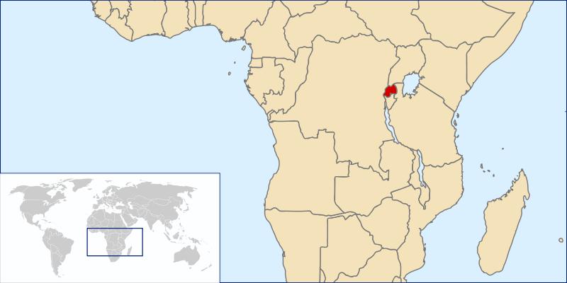 la situacion de Ruanda en gran resolucion