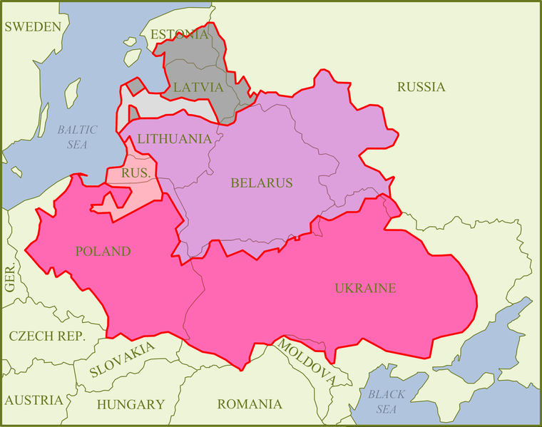 map of Belarus high resolution