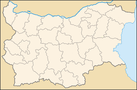 map of Bulgaria high resolution
