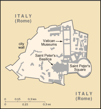 map of Vatican City high resolution