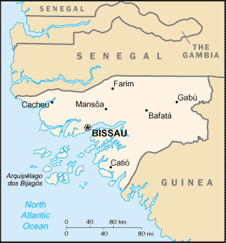 map of Guinea-Bissau high resolution