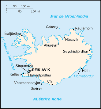 map of Iceland high resolution
