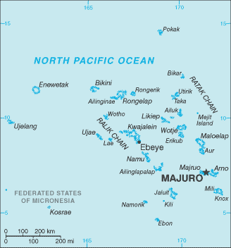 map of Marshall Islands high resolution