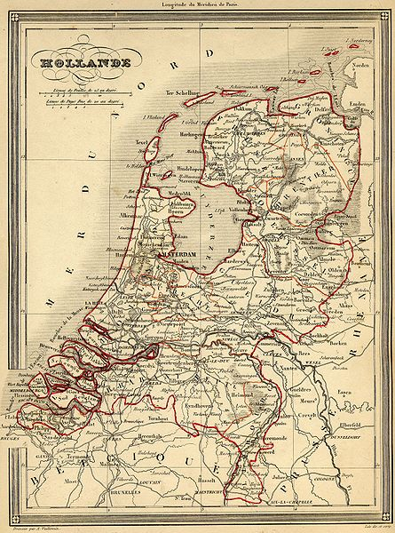 map of Netherlands high resolution