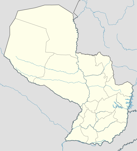 map of Paraguay high resolution