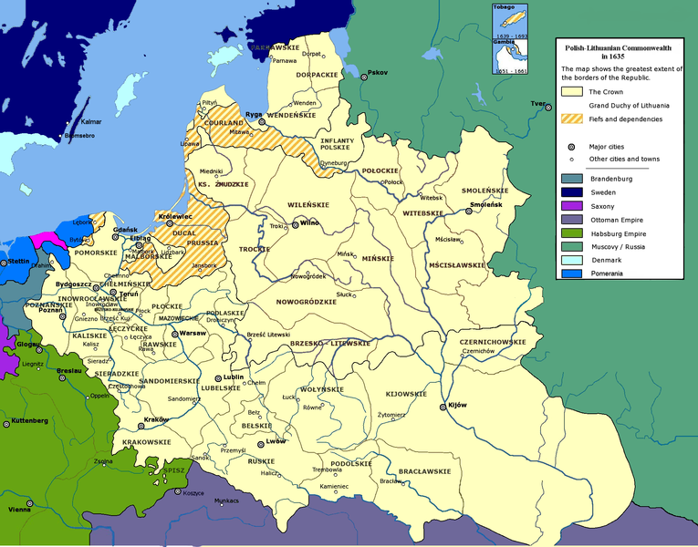 map of Poland high resolution