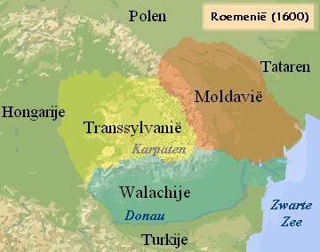 Karte von Rumänien hohe Auflösung