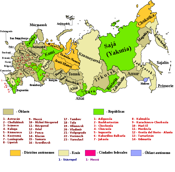 map of Russia high resolution