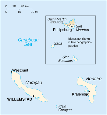map of Saba high resolution