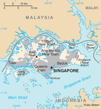 map of Singapore high resolution