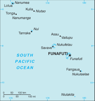 map of Tuvalu high resolution