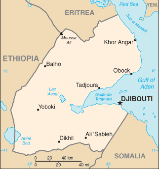 el mapa de Yibuti en gran resolucion