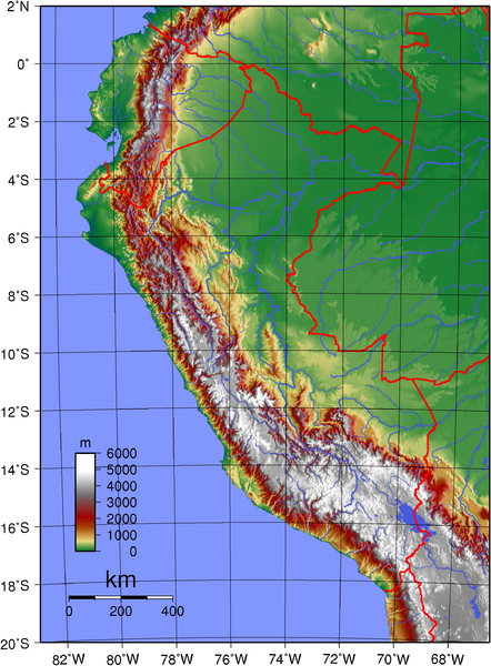 map of Peru high resolution