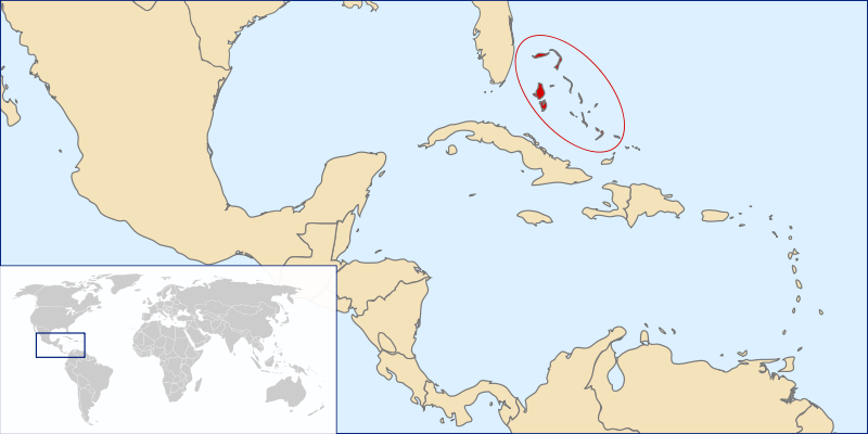 location of Bahamas high resolution