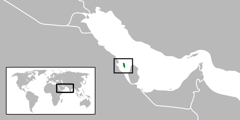 location of Baréin high resolution