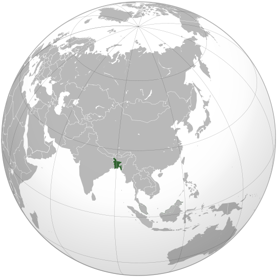 location of Bangladesh high resolution