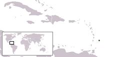 a situação dos Barbados em alta resolução