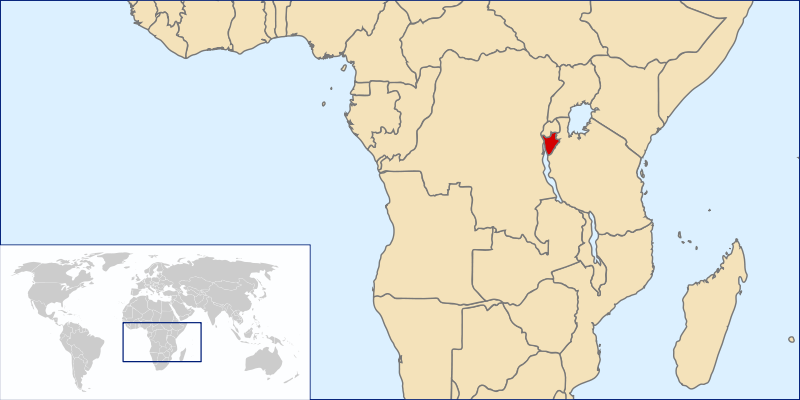 location of Burundi high resolution