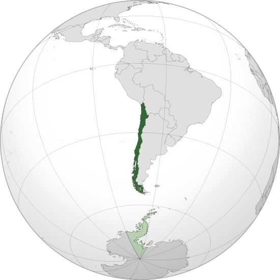 location of Chile high resolution
