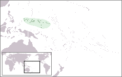 location of Federated States of Micronesia high resolution