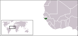 location of Guinea-Bissau high resolution