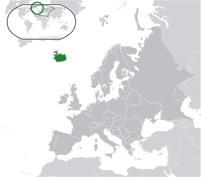 location of Iceland high resolution