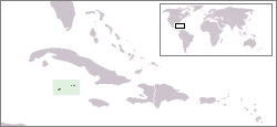location of Cayman Islands high resolution
