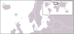 location of Faroe Islands high resolution