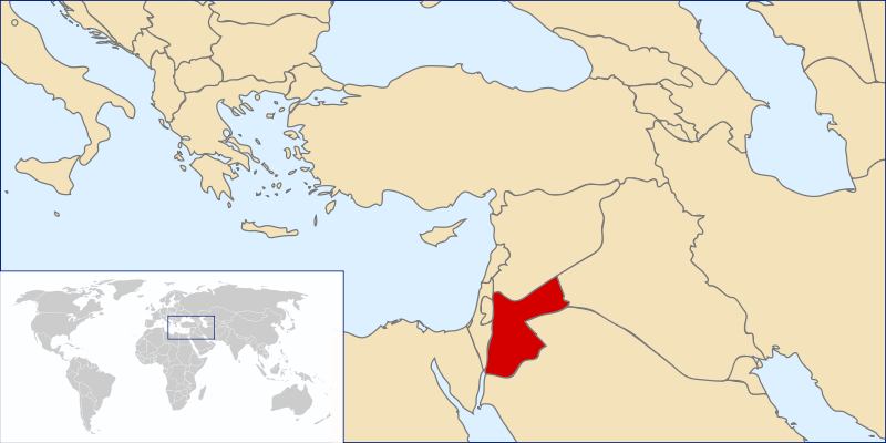 location of Jordan high resolution