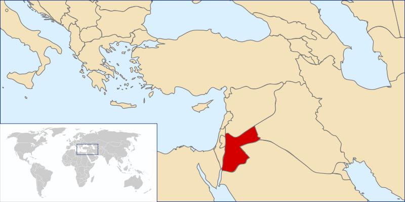 location of Jordan high resolution