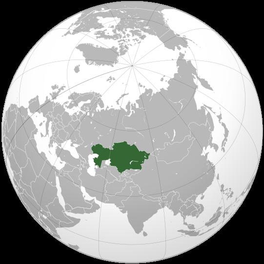 la situation des Kazakhstan haute résolution