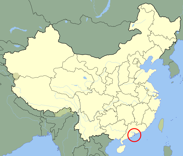 location of Macao high resolution