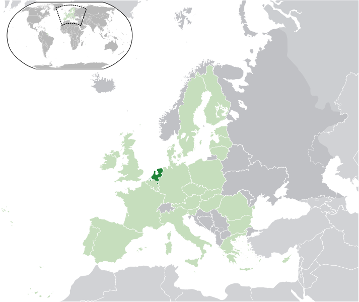 location of Netherlands high resolution