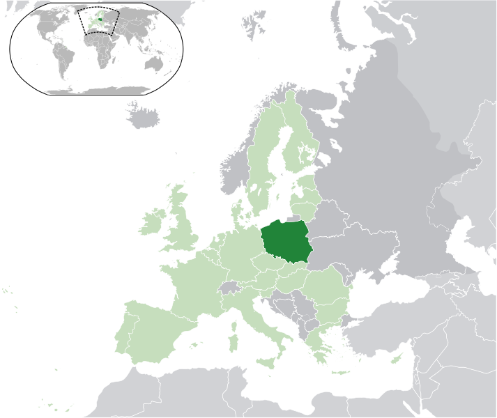 location of Poland high resolution