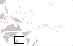 Lage von Amerikanisch-Samoa hohe Auflösung