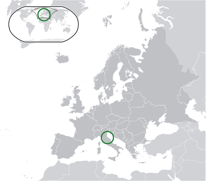 location of San Marino high resolution