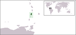 location of St. Vincent and the Grenadines high resolution