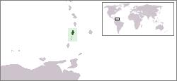 Lage von St. Vincent und die Grenadinen hohe Auflösung