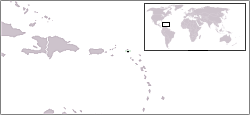 Lage von Sint Maarten hohe Auflösung