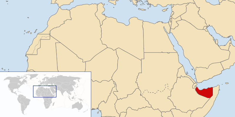 location of Somaliland high resolution