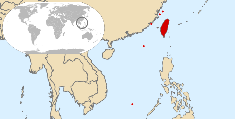 location of Taiwan high resolution