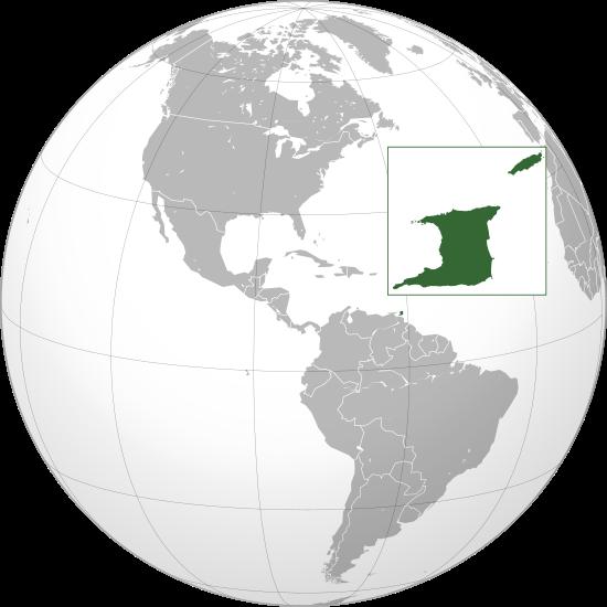 la situation des Trinité-et-Tobago haute résolution